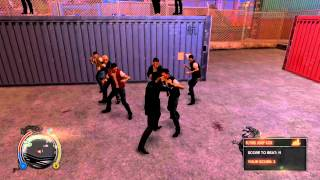 Sleeping Dogs - The best fighting experience in open world game ever! gameplay HQ