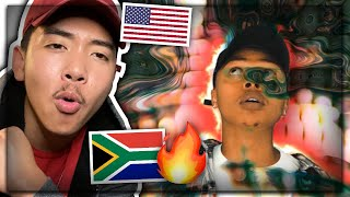 A-Reece - Holding Hands (Official Video) AMERICAN REACTION! South African Music | US / USA REACTS