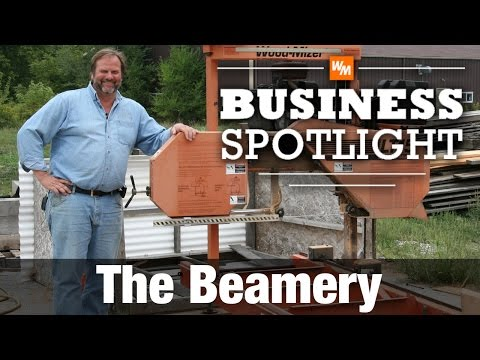 Portable Sawmill Business - The Beamery - YouTube