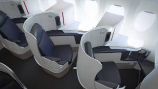 The new 2014 Air France business class