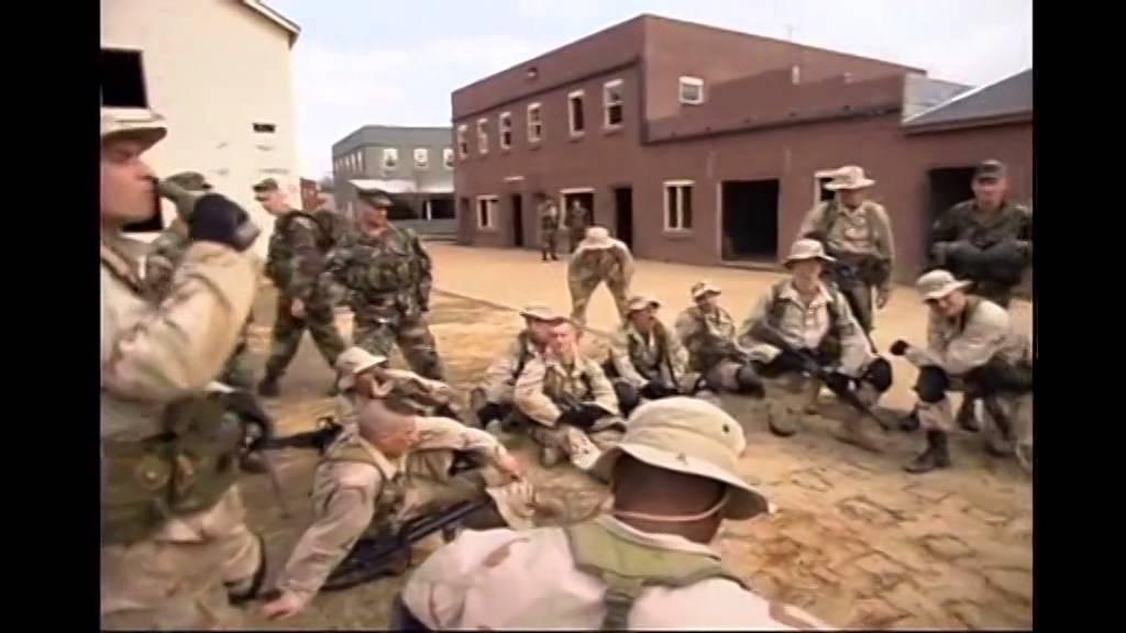 Black Hawk Down (Military Trainning) Part 3/3