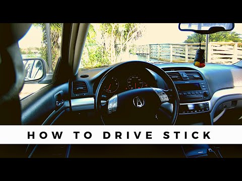 How to Drive Stick (TSX)