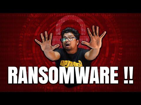 ഉടായിപ്പ് ! HOW To SAVE From Ransomware On PC ?