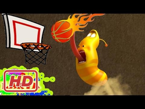 LARVA ❤️ The Best Funny cartoon 2017 HD ► La BASKETBALL ❤️ The newest compilation 2017 ♪♪ PART 55