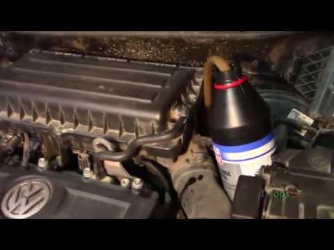 Самостоятельная замена масла в МКПП Polo Sedan
