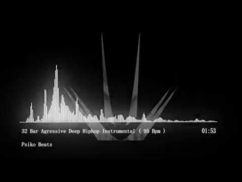 32 Bars Agressive Deep Hiphop Instrumental ( 95 Bpm ) ( Free Beat )