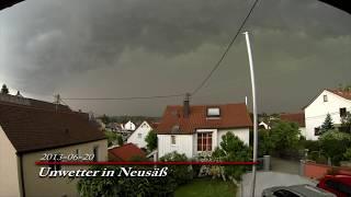 Unwetter des Jahrzehnts in Augsburg (Juli 2013)
