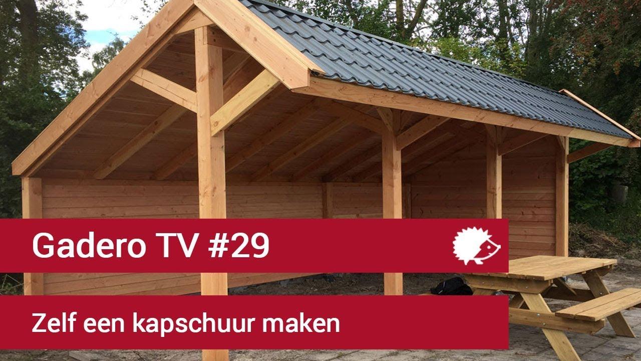 29 Kapschuur Bouwen Van Lariks Douglas Hout Zelf Maken
