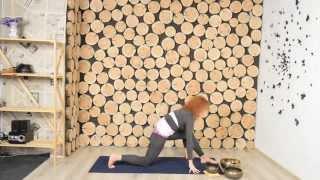 Урок 1: Йога для начинающих - основные асаны от Юлии Степуры.