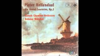 Pieter Hellendaal Six Grand Concertos Op.3, SCO Bohdan Warchal