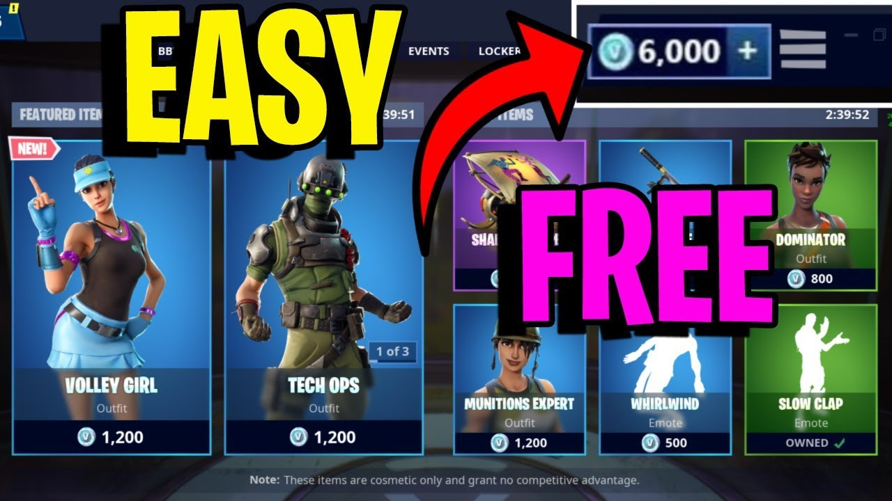 NEW Skins  Fortnite Battle Royale Free V Bucks Generator ...