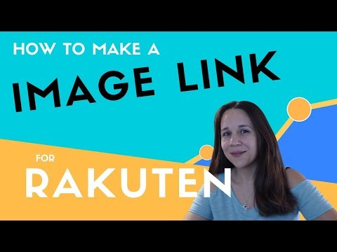 How to Build an Image Link for Rakuten (LinkShare) - Affiliate Links for Product Images