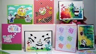 10 Kids Birthday Cards in Under 10 minutes! *results may vary:)