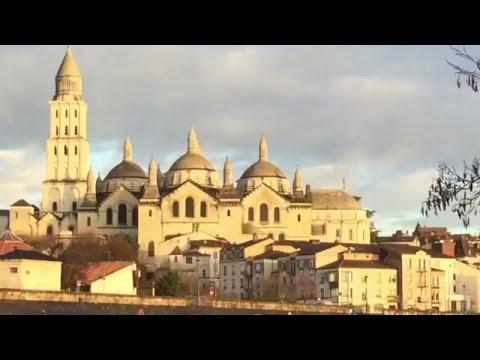 Périgueux et sa Cathédrale en Février 2016