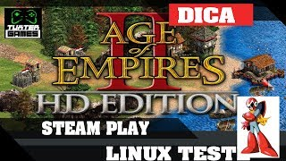 Rodando Age of Empires II HD com Steam Play (Proton)
