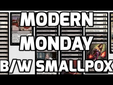 Modern Monday - BW Smallpox (Match 1)