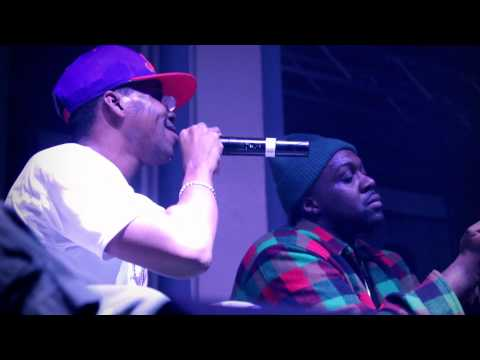 Curren$y with Smoke DZA - Full Metal/King Kong (Smoker's Club Live in Indianapolis)
