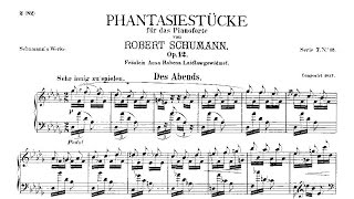 Robert Schumann: Fantasiestücke Op. 12 (1837)