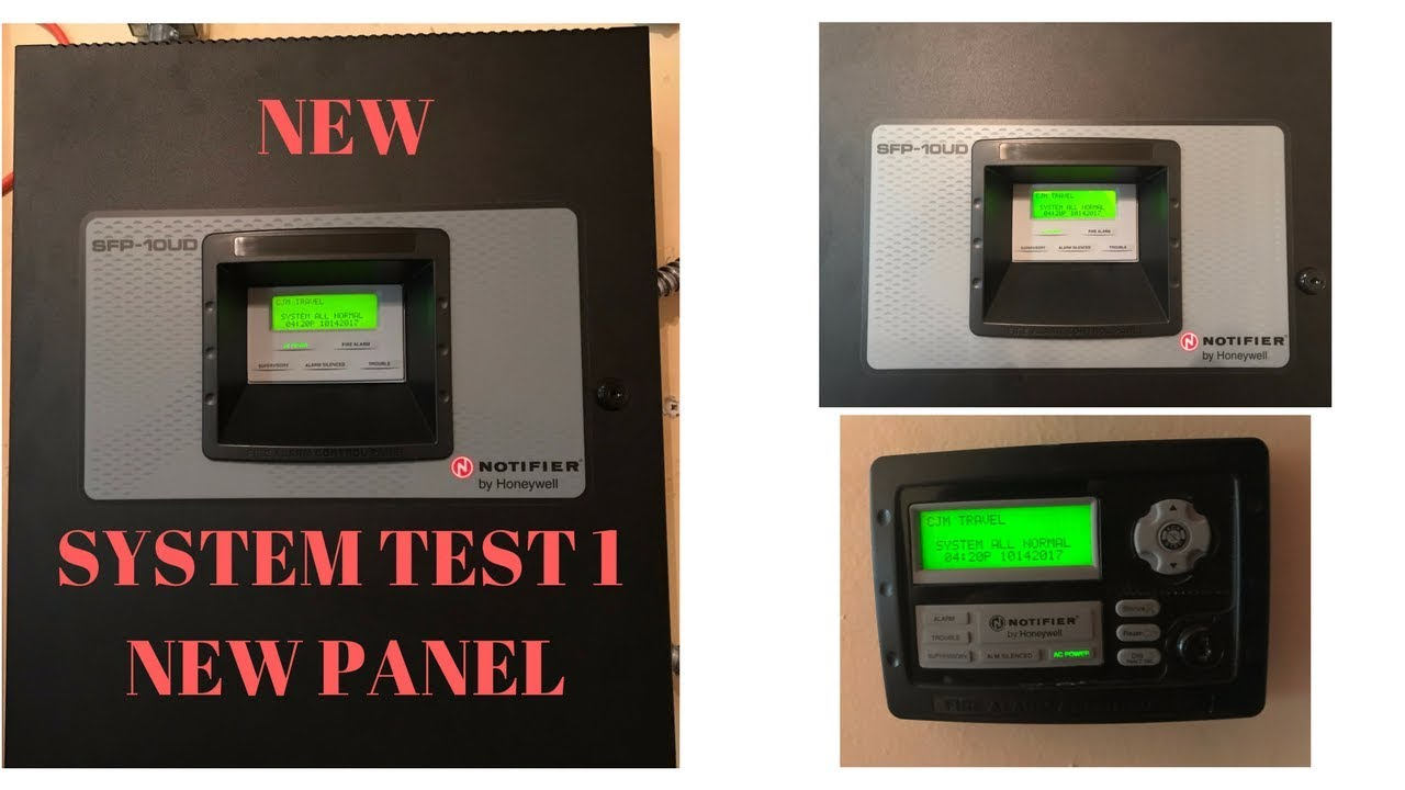 new system test 1 notifier sfp 10ud youtube rh youtube com Conventional Fire Alarm Control Panel Fire Alarm Control Panel