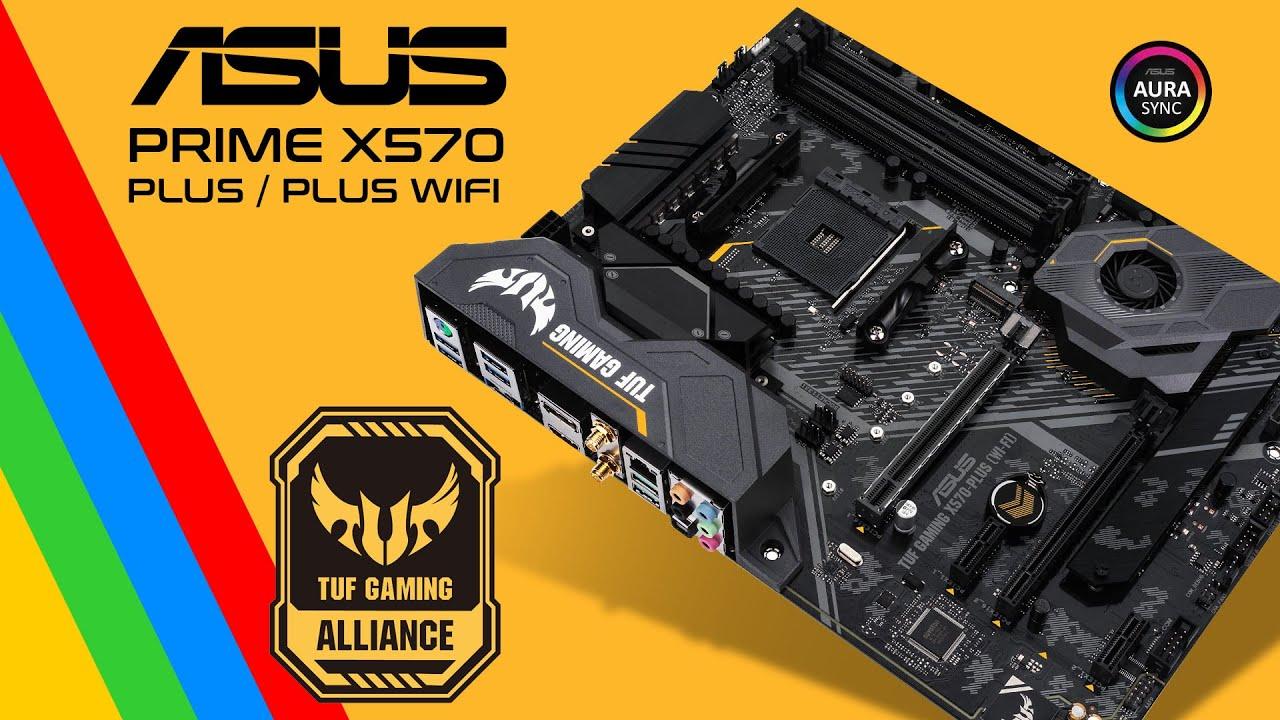 Download Motherboard Asus TUF Gaming X570 Plus / Plus WIFI