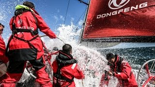 Dongfeng Race Team | Round Britain and Ireland Race (Day 2 Broken Sail)