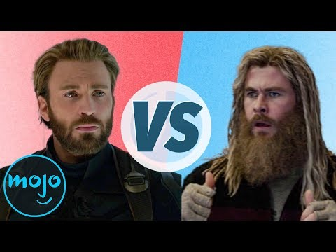Avengers: Infinity War vs. Avengers: Endgame