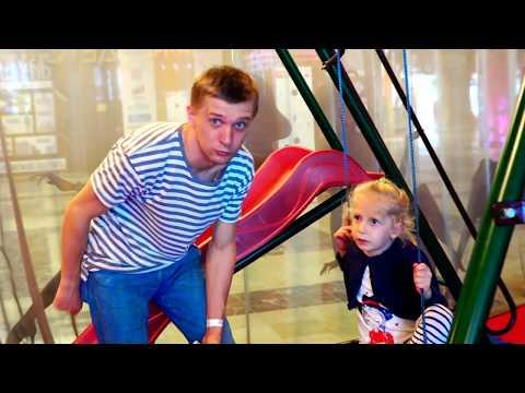 Веревочный парк в Санкт-Петербурге и идем в Батутный парк со всей семьей