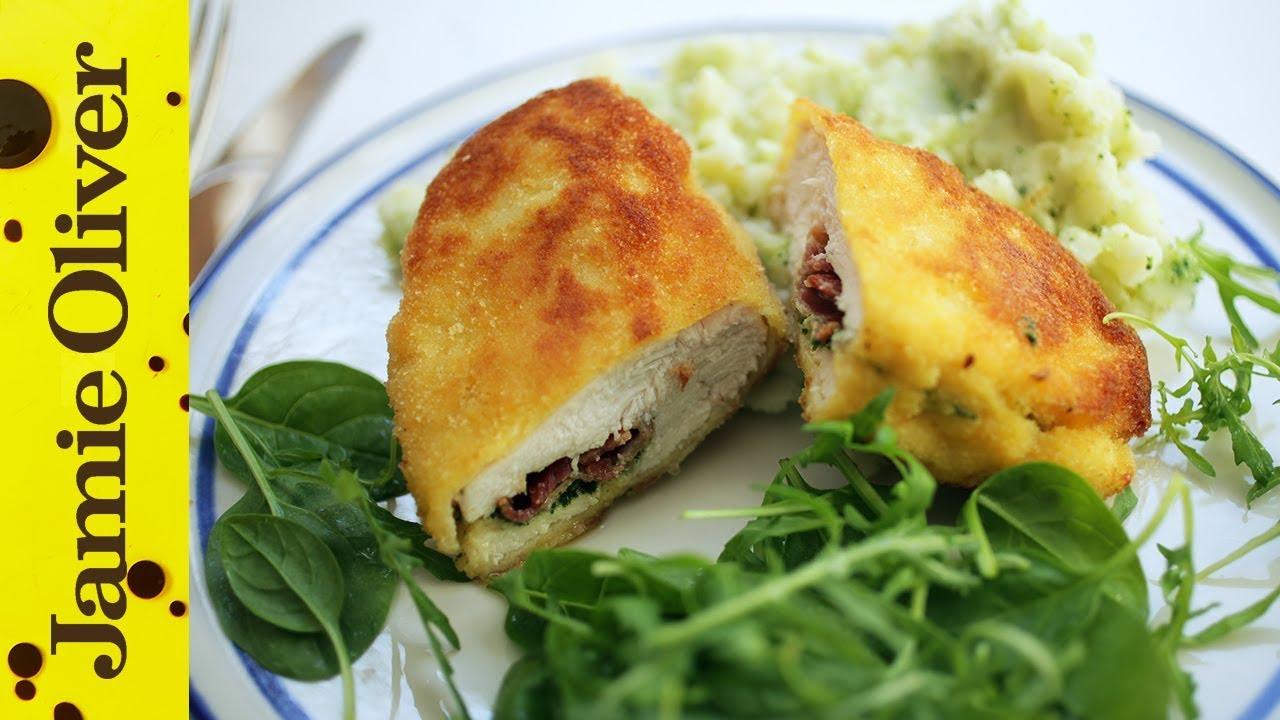 Ultimate chicken kiev jamies comfort food kerryann dunlop youtube forumfinder Images
