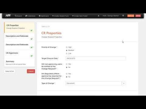 OpenContent Compliance Solution - Create CR