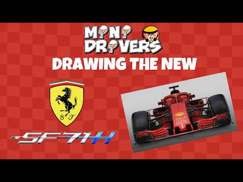 MiniDrivers - Working on the new F1 Ferrari SF71H