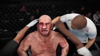 Conor McGreggor vs. Pig - Man (EA sports UFC 3) - CPU vs. CPU