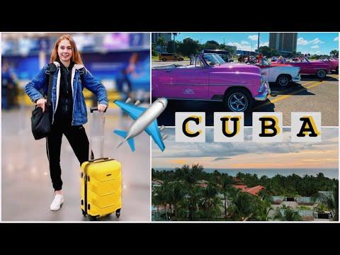CUBA VLOG ✈️ Наше путешествие ЧАСТЬ 1😍 Перелёт | Room Tour | Экскурсия