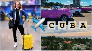 CUBA VLOG ✈️ Наше путешествие ЧАСТЬ 1