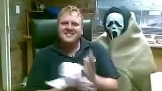 Прикол с маской Scream