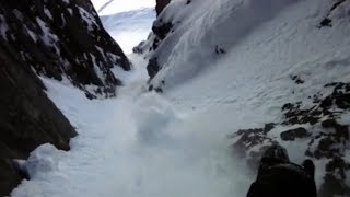 How To Snowboard Chutes & Couloirs
