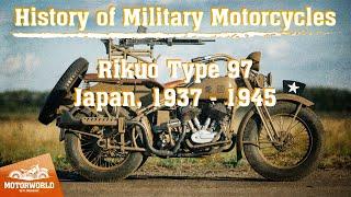 История военных мотоциклов. Rikuo Type 97 - восстановлен из пепла!