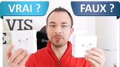 Comment reconnaître des FAUX Airpods Pro ?