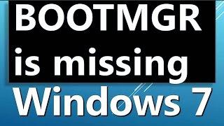 Comment résoudre le bootmgr absent windows n a pas pu demarrer