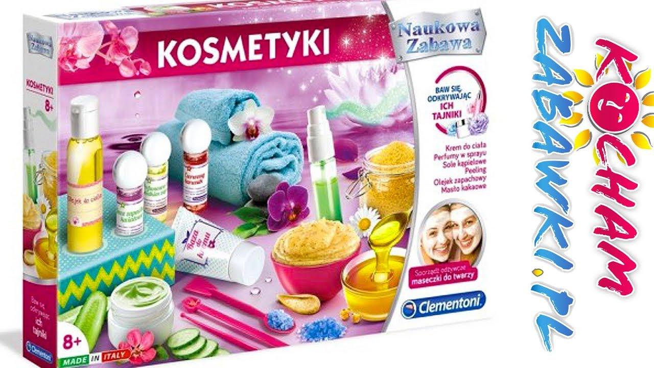 Kosmetyki • Naukowa zabawa • Zrób to sam • Clementoni • openbox & kreatywne zabawki