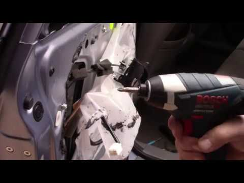 2007 Honda CR V Door Lock Actuator Repair