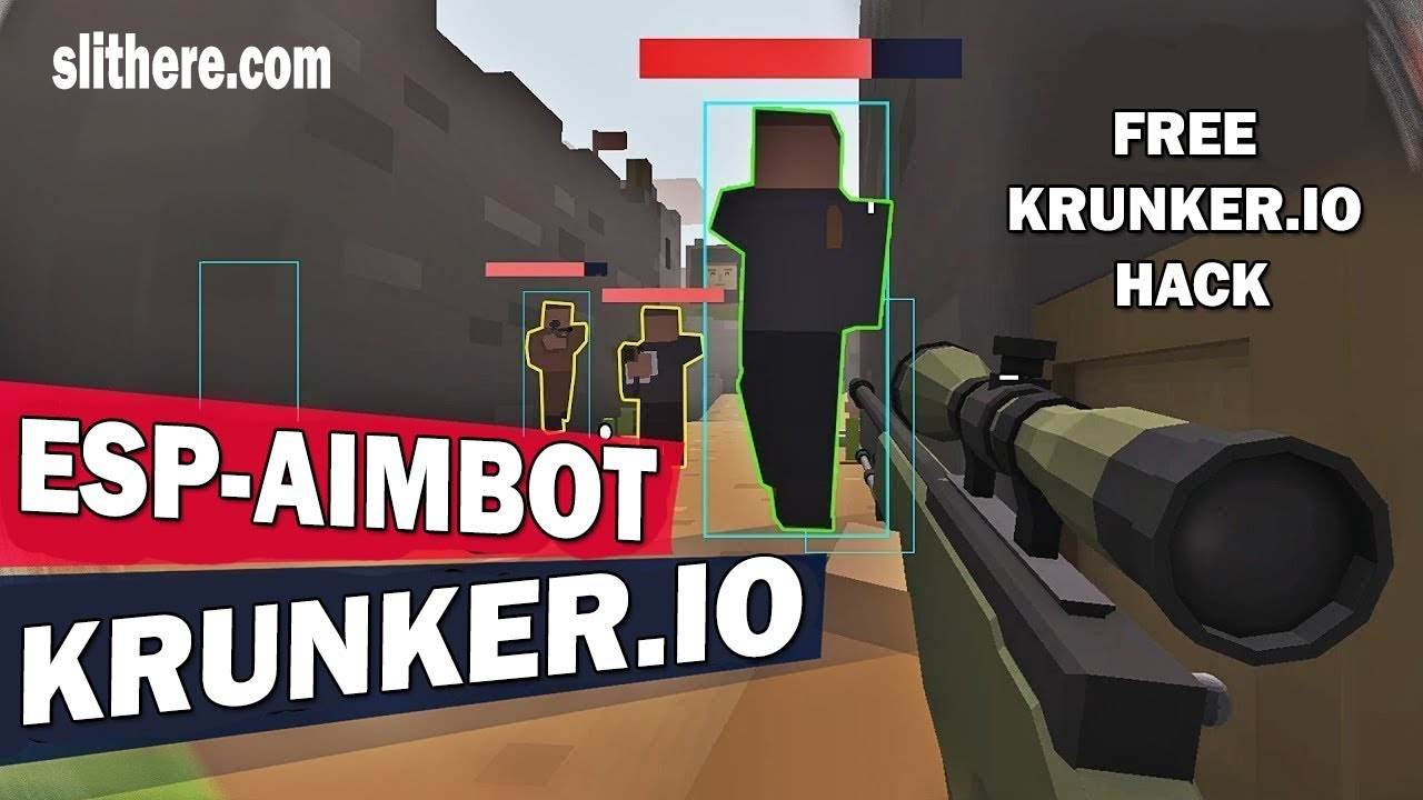 Krunker io Aimbot 2018 - Krunker io Guide & Play