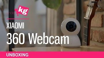 Xiaomi 360 Webcam Unboxing [4K]