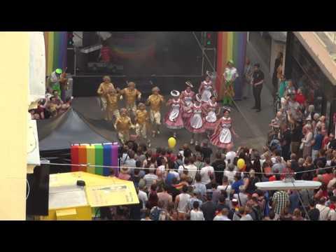 "Les Schuh Schuh 2017 ""Wien"" Straßenfest Mariahilf Totale"