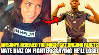 Israel Adesanya gets HILARIOUS REACTIONS after showing new Venom gear, Nate Diaz on UFC 263 critics