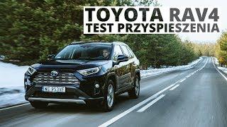 Toyota RAV4 2.5 Hybrid 218 KM (AT) - acceleration 0-100 km/h