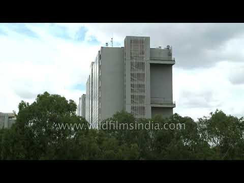 Residential buildings at Sarjapur Road in Bangalore