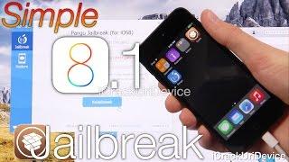 NEW Jailbreak iOS 8 - 8.1 Untethered Pangu iOS 8 iPhone 6 Plus,5S,5C,4S,iPod 5 & iPad Mini 3 Air 2,4