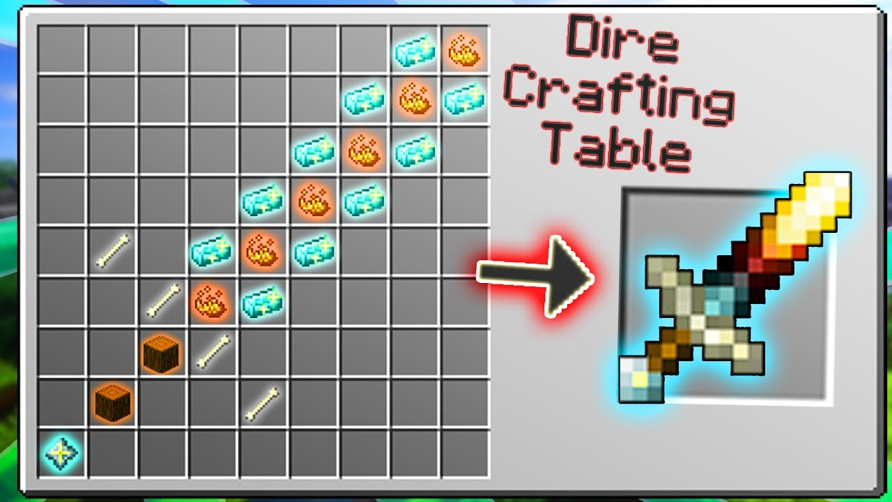 Crafting The Most Op Weapons In Minecraft History World