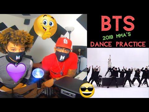 BTS (방탄소년단) 2019 MMA 'Dionysus' Intro Performance Dance Practice -REACTION