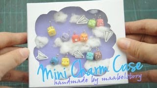 Diy Mini Charm Display Case (dust-proof)